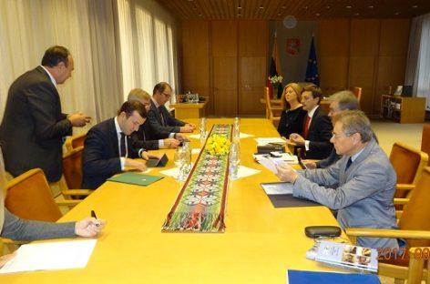 Seimo Pirmininkas Viktoras Pranckietis – apie situaciją viešajame transporte
