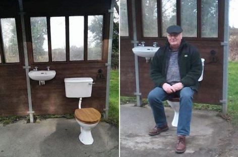 Autobusų stotelė – vonios kambarys
