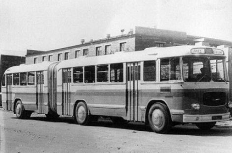 "Eksperimentinis ""LiAZ-5Э-676"" autobusas"