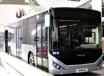 "Stambule – pirmasis elektrinis ""Otokar"" autobusas"