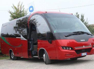 """""""Ferrari"""" autobusas – Italijai"""