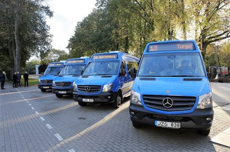 Klaipėdos maršrutiniai autobusai keičia spalvą