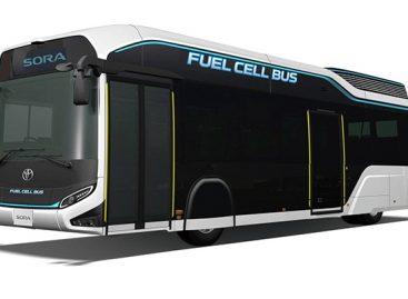 """Toyota"" pristatė vandenilinio autobuso konceptą"