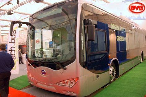 Kalifornijoje atidaryta BYD autobusų gamykla