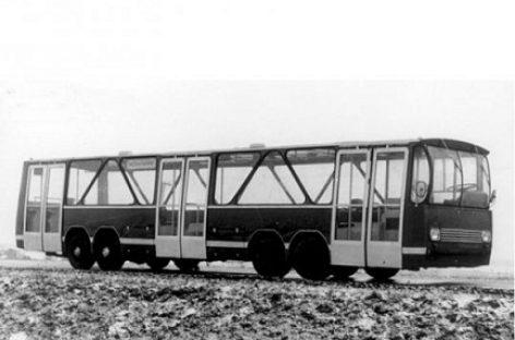Keturašis LAZ – elektrinis autobusas iš praeities