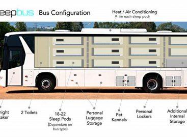 Autobusai padeda spręsti benamių problemas