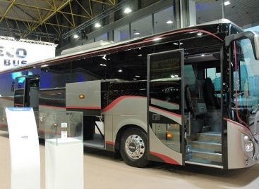 """""""Busworld Europe"""" parodoje IVECO Bus pristatė atnaujintus autobusus"""