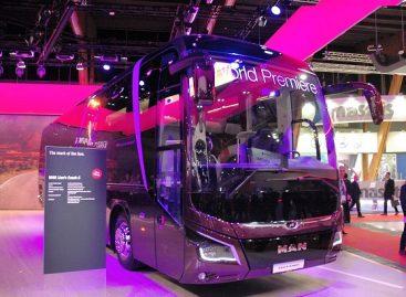 """""""MAN Truck & Bus"""" stende """"Busworld"""" parodoje – gausybė naujovių"""