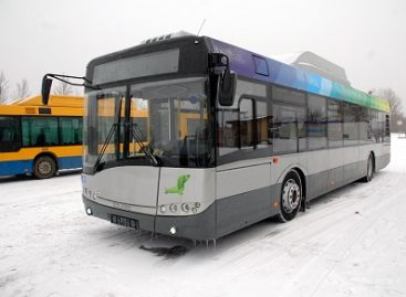 Nuo lapkričio 24-osios – daugiau naujų autobusų Vilniaus viešajame transporte