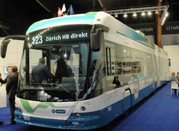 """""""Busworld Europe"""" parodoje – troleibusas iš Ciuricho gatvių"""