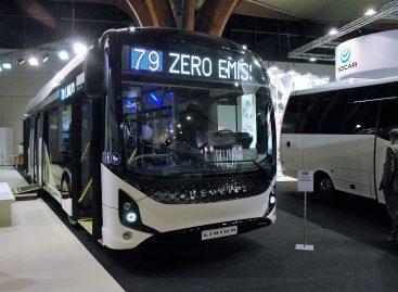 Amsterdamo vežėjai keičia dyzelinius autobusus elektriniais