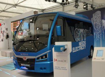 """""""Karsan"""" stende """"Busworld"""" parodoje – midi autobusų naujienos"""