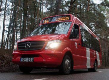 """Į Kauno gatves išvažiavo nauji """"Mercedes-Benz Sprinter"""""""