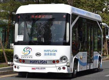 Kinijoje – didesnės talpos savivaldžiai autobusai