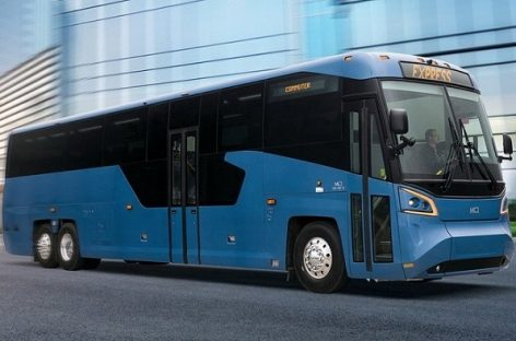 MCI pirmą sykį per 36-erius metus pristatė naują autobusą