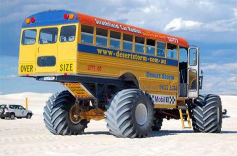 Originalūs mokykliniai autobusai