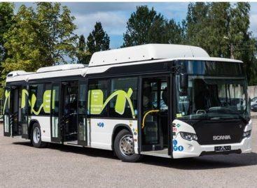 """Sostinės gyventojai iki Kalėdų galės išbandyti naująjį """"Scania Citywide"""" autobusą"""