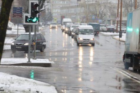 Vilniuje rekonstruota Kareivių – Verkių g. sankryža