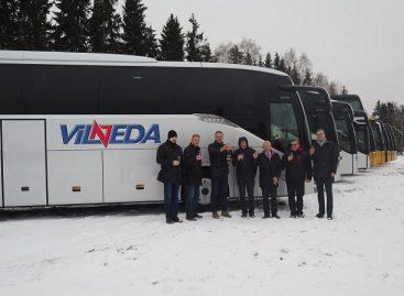Lietuvoje – devyni nauji, modernūs autobusai