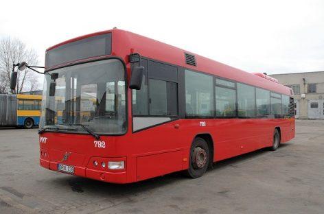 Sostinės autobusai ir troleibusai keičia spalvas