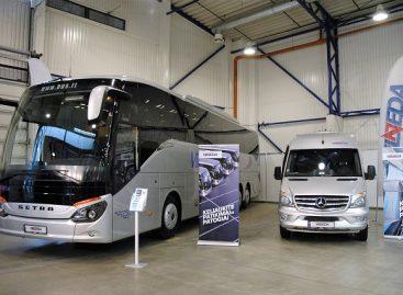 """""""Adventur"""" parodoje """"Vilneda"""" pristatė  naujausius autobusus"""