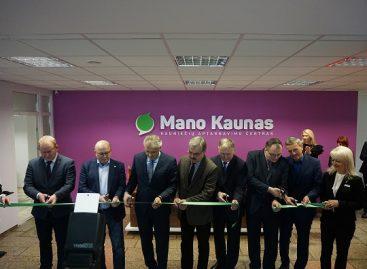 """Keleivių laukiama naujajame aptarnavimo centre """"Mano Kaunas"""""""