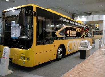 Mogiliove išbandomi kinietiški elektriniai autobusai