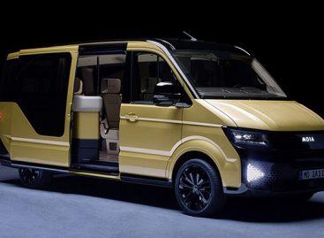 """""""Volkswagen"""" pristatė elektrinio mikroautobuso konceptą"""