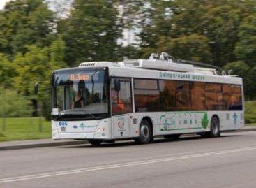 Ukrainos Dniepro mieste – pirmasis per 25-erius metus naujas troleibusų maršrutas