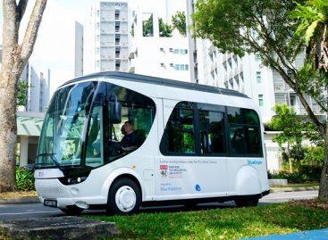 Singapūre – elektrinis autobusas, įkraunamas per 20 sekundžių