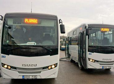 Lietuvos keliuose – dar du nauji autobusai