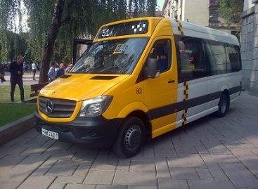 Elektroninio bilieto kainos ir pildymas Kauno maršrutiniame taksi