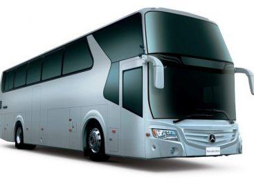 """""""Mercedes-Benz"""" autobusus surinkinės Taivanyje"""