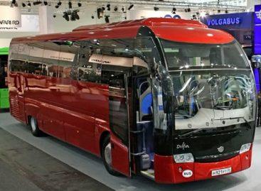 Rusijoje atidaryta nauja autobusų gamykla