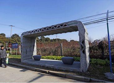 Šanchajuje – pirmosios 3D spausdintuvu atspausdintos viešojo transporto stotelės