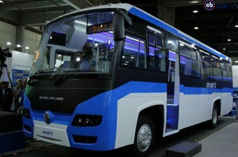 """Autobusą su baterijomis pristatė """"Ashok Leyland"""""""