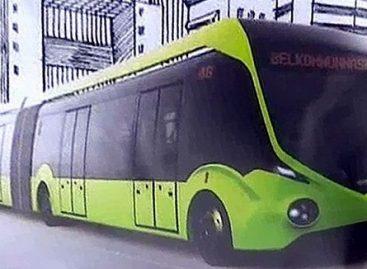 """Baltarusių """"Belkommunmaš"""" pristatė """"išverstakius"""" elektrinius autobusus"""
