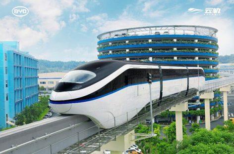 """BYD Egipte diegs """"Sky rail"""" vienabėgį"""