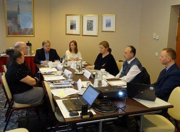 Vasario 7 d. susitikimas su Estijos profsąjungomis Taline