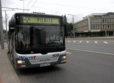 Vilniuje viešojo transporto keleivius tradiciškai šildys arbata