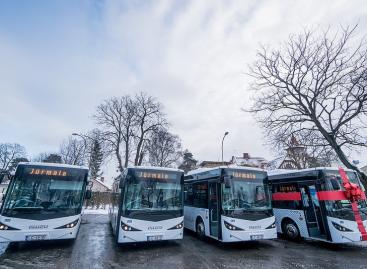 Naujiems autobusams įsigyti Jūrmalos vežėjai pritraukė ES lėšas