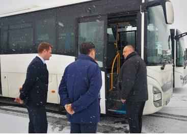 Jonaviškiai įsigijo du naujus autobusus