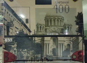 Kauno viešasis transportas pasipuošė istorinėmis nuotraukomis