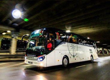 Lietuvos vyrų krepšinio rinktinei – naujo dizaino autobusas