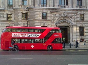 Londono autobusai taps žali