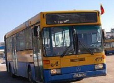 Sostinės viešasis transportas pasipuošė šventėms