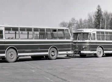 Sovietiniai autobusai su priekabomis