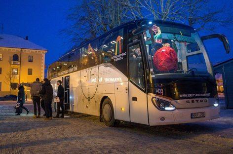 Klaipėdiečiai išbandė naująjį rinktinės autobusą (video)
