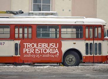 Senuoju troleibusu – per istoriją