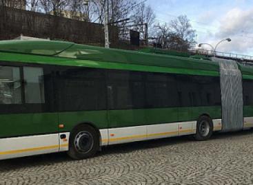 """Škoda"" ir IVECO troleibuso debiutas"